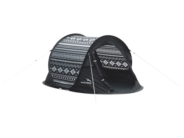 Easy Camp Antic Tribal Black & White Telt sort
